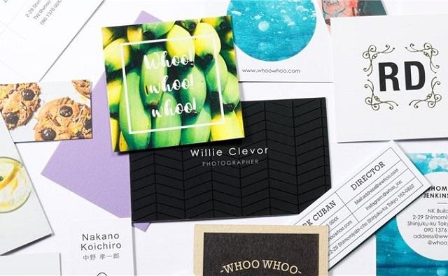 ショップカードのデザイン