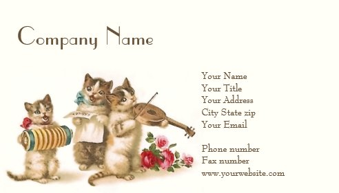 Caterwauling Business Card
