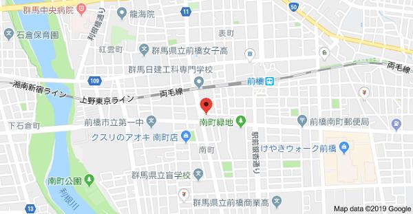 群馬印刷デザインの住所
