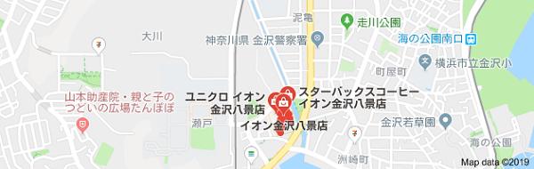 至宝堂イオン金沢八景店の地図