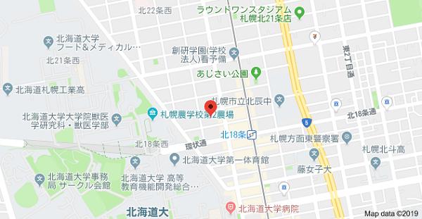 らくらく印刷の地図