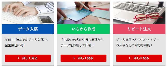 名刺本舗の名刺の注文方法