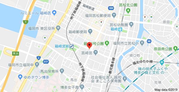 印房小山田の地図