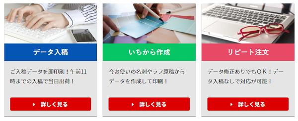名刺本舗の注文方法
