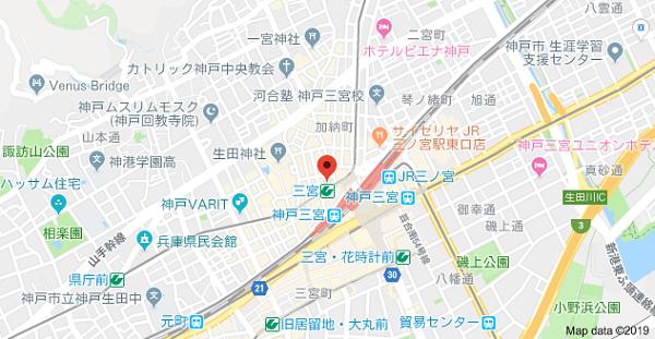 山下デザイン事務所の地図