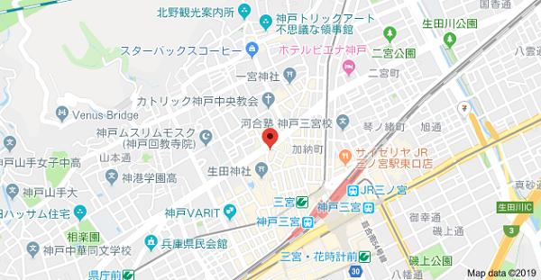 KPSの地図