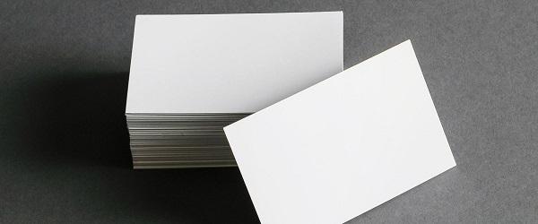 名刺の印刷用紙