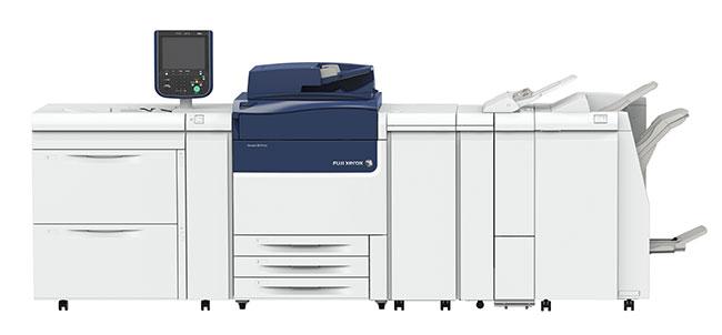 富士ゼロックスの印刷機材